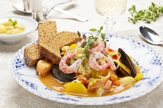 Fransk middag till mor!
