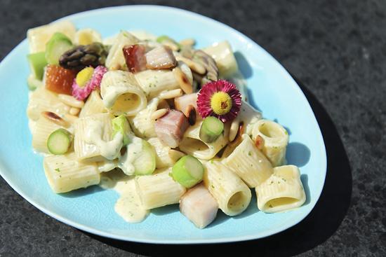 Snabblagat med pasta