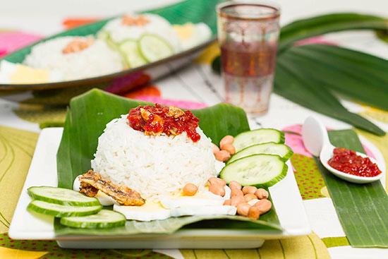 Malaysia bjuder på frukostmat
