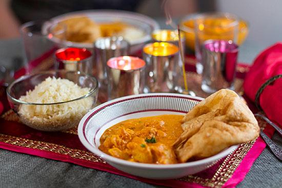 Chicken korma – från Indien