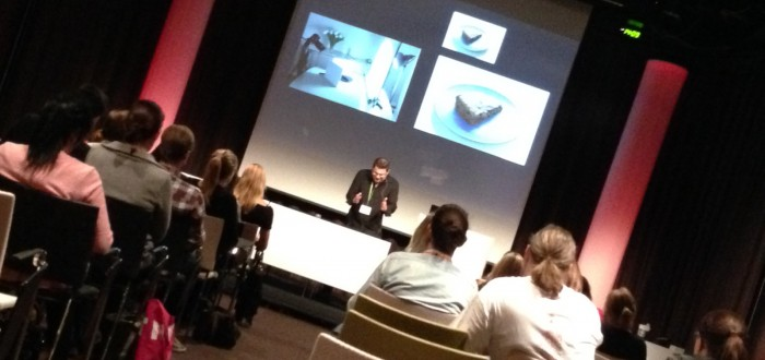 Föredragshållare Michael Krantz om matfoto och matstyling