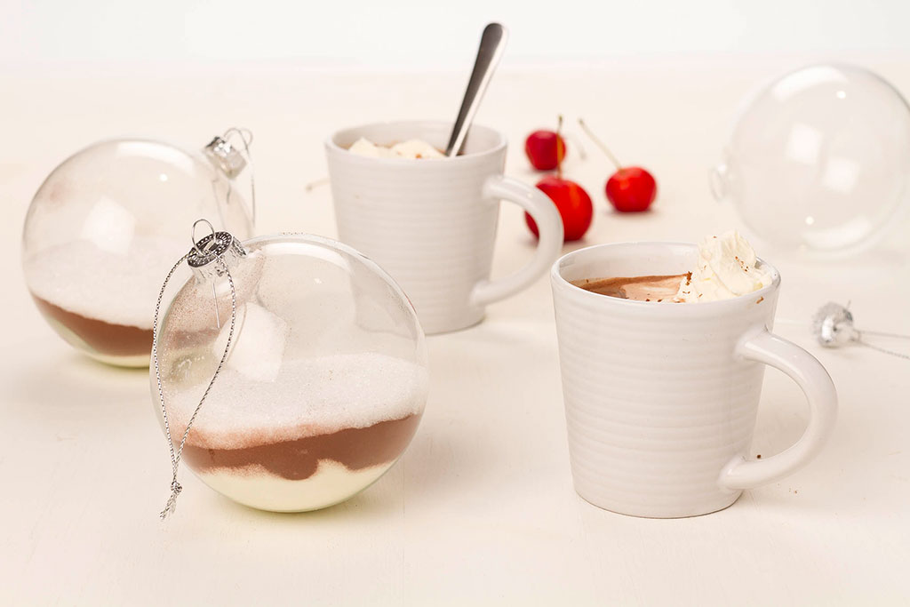 Varm choklad i julgranskula | Foto: Michael Krantz