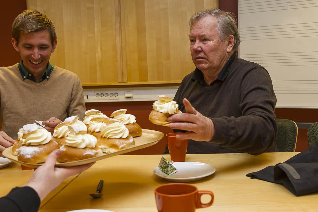 Fredagsfika med Felix Gottvall & Bert Karlsson | Foto: Michael Krantz