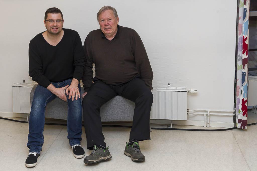 Hänger med Bert Karlsson | Foto: Gunilla Davidsson