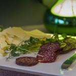 Sivans ost och älgkorv | Foto: Michael Krantz