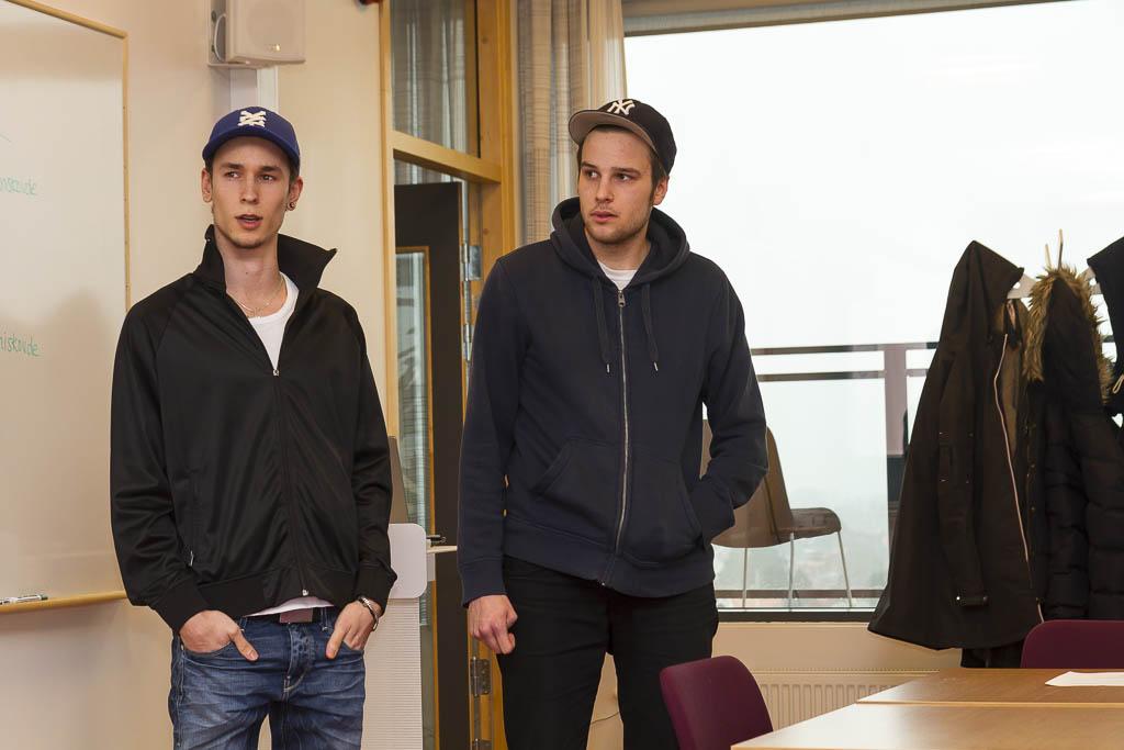 David Lindvall och Martin Åberg | Foto: Michael Krantz
