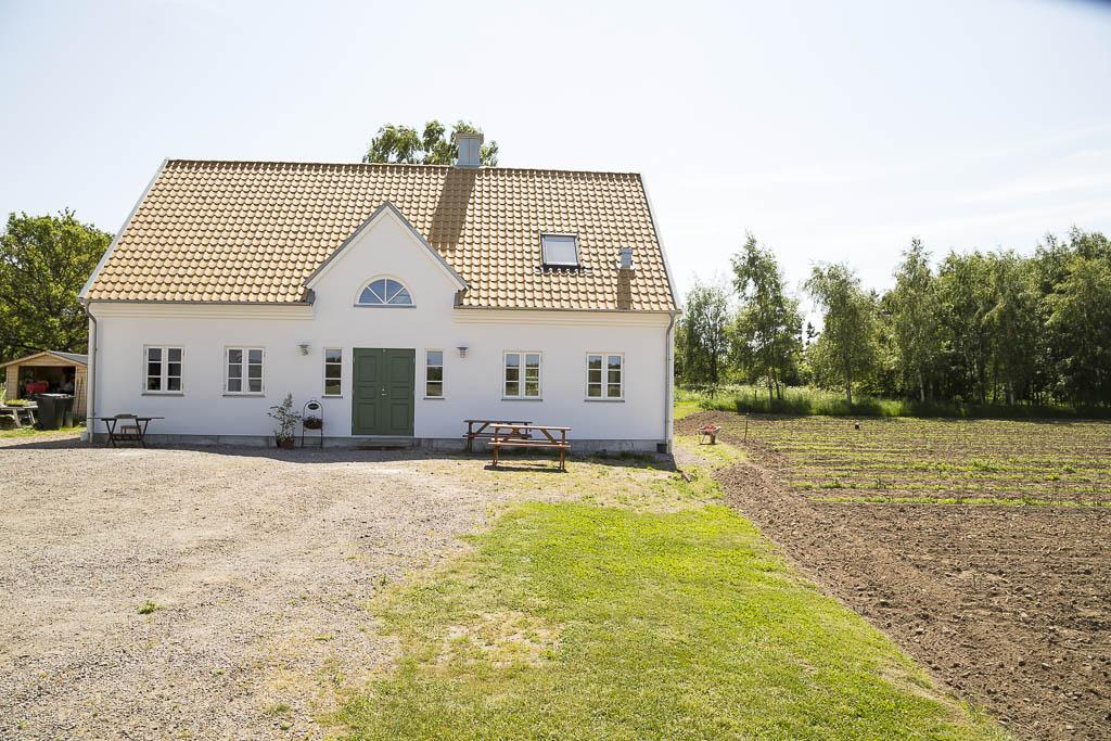 Hemma hos Johan och Åsa Sjöblom på Kullasparris | Foto: Michael Krantz
