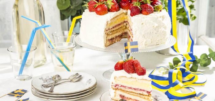 I morgon blir det tårtkalas! #sverigesnationaldag