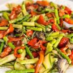Grillade marinerade grönsaker | Foto: Michael Krantz