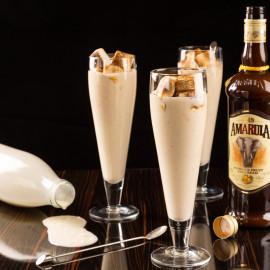 Milkshake med Amarula Cream & grillade marshmallows | Foto: Michael Krantz