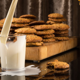 Chocolate chip cookies med Amarula Cream | Foto: Michael Krantz