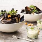 Ångade musslor med fänkålsdill | Foto: Michael Krantz