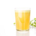 Färskpressad juice med äppelmynta | Foto: Michael Krantz